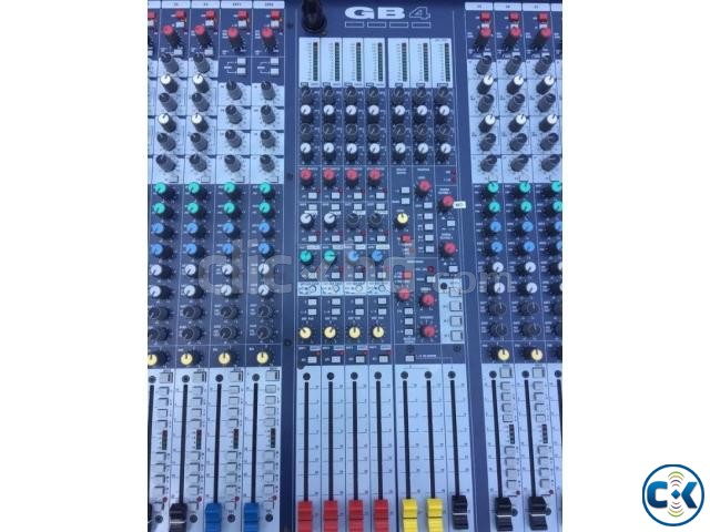 Soundcraft GB-4-32 with flight case call 01928135114 | ClickBD large image 1