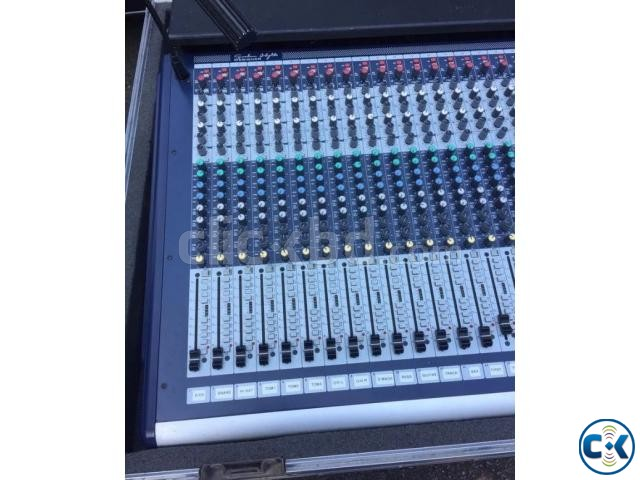 Soundcraft GB-4-32 with flight case call 01928135114 | ClickBD large image 2