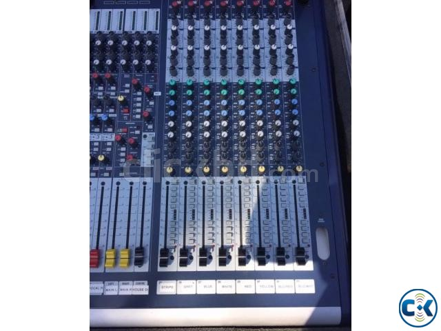 Soundcraft GB-4-32 with flight case call 01928135114 | ClickBD large image 3