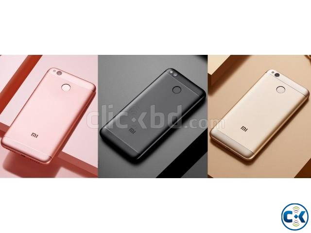 Brand New Xiaomi Redmi 4X 32GB Sealed Pack With 3 Yr Warrnt   ClickBD large image 1