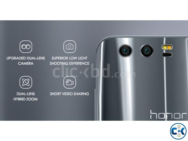 Brand New Huawei Honor 9 6 64 Sealed Pack 3 Years Warranty | ClickBD large image 1