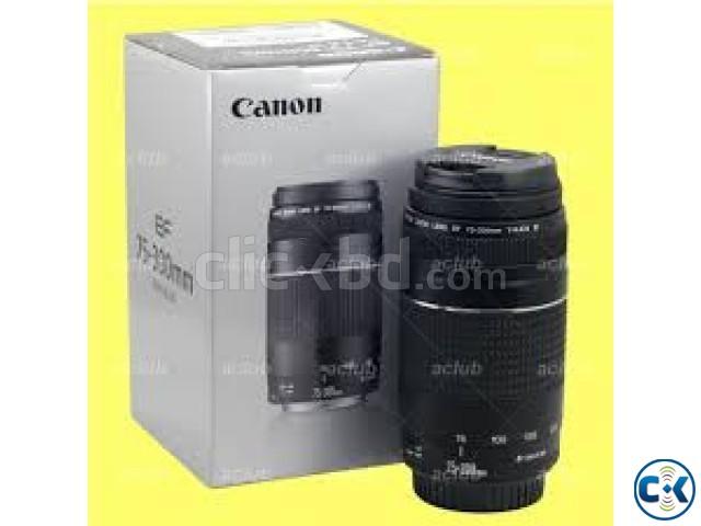 Canon Ultrasonic EF 75-300mm USM DSLR Camera Lens   ClickBD large image 0