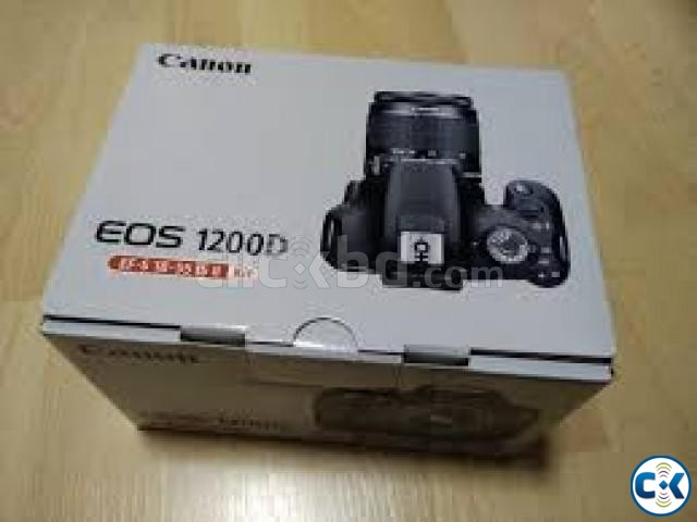 Canon EOS 1200D DSLR Camera with CMOS Sensor 3 LCD | ClickBD large image 0