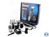 Kemei Grooming Kit Silver 8in1 680A