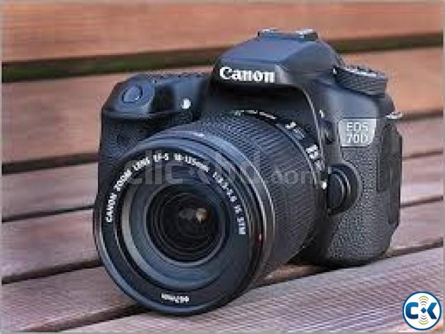 Canon EOS 70D Digital SLR Camera with 18-135mm STM Lens | ClickBD large image 0