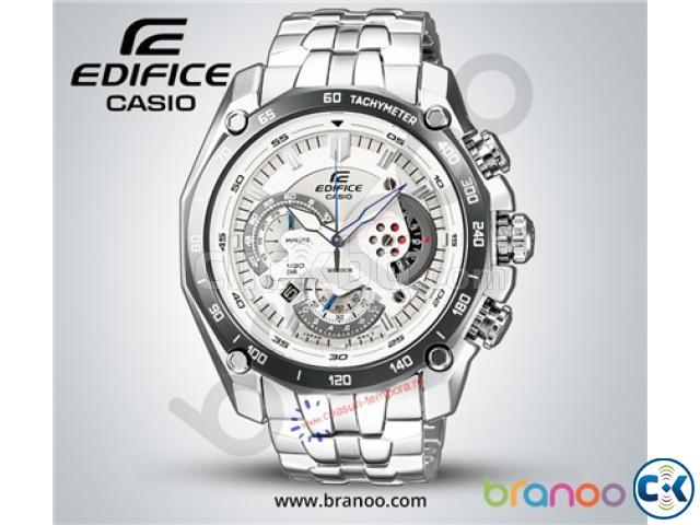 Casio Edifice EF-550 White W-135 | ClickBD large image 0