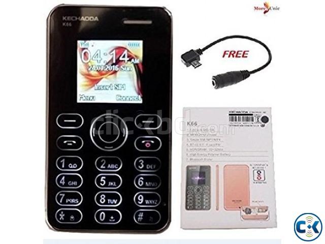 KECHAODA K66 Card Phone | ClickBD large image 0