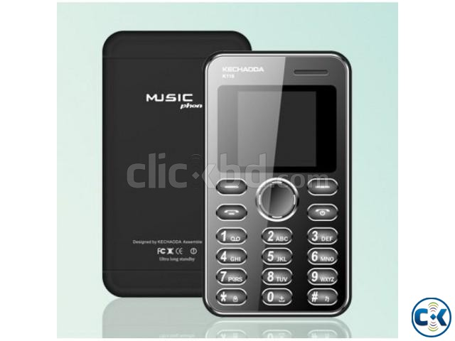 KECHAODA K66 plus Dual Sim Card Phone with warranty intact | ClickBD large image 0