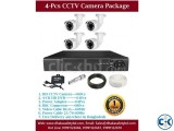 4 Pcs CCTV Camera Package