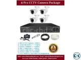 4 Pcs CCTV Camera Package