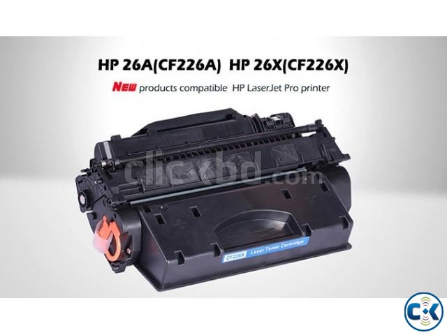 China HP 26A Black Comfortable Toner Cartridge | ClickBD large image 0