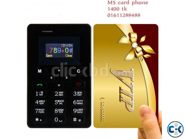 AIEK M5 card Phone | ClickBD large image 0