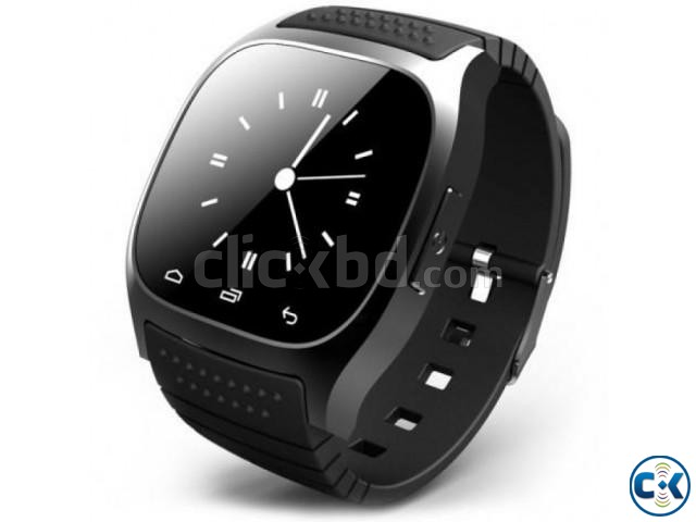 M26 Bluetooth Smart Mobile Watch Gear intact Box | ClickBD large image 0