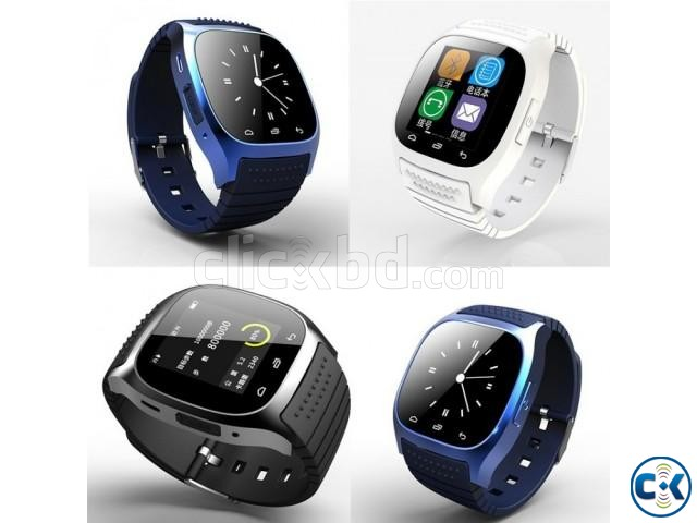 M26 Bluetooth Smart Mobile Watch Gear intact Box | ClickBD large image 3