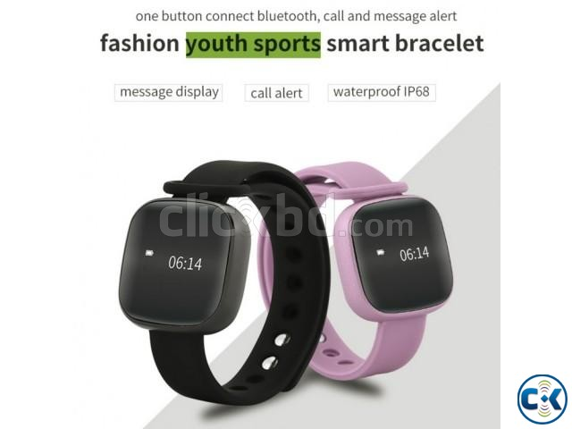 Newest V8 Smart Band Touch Screen Waterproof Smart Bracelet | ClickBD large image 0