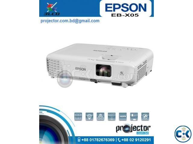 Epson EB-X05 XGA Projector | ClickBD large image 0