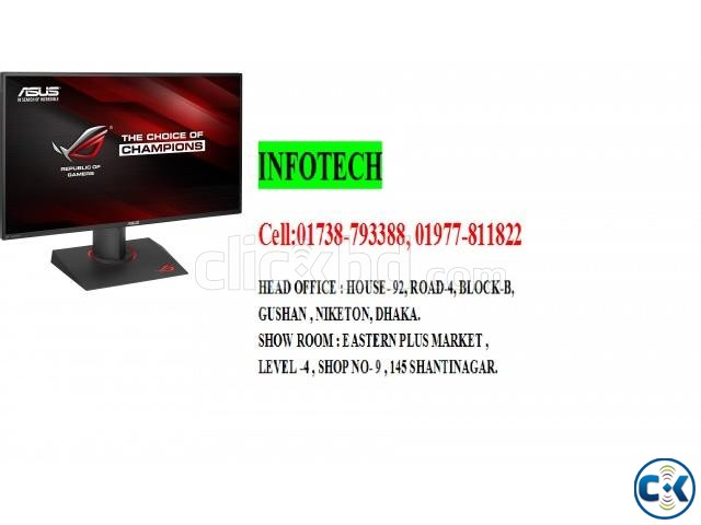 The ASUS 19 Widescreen LED Monitor VS197D-P Black  | ClickBD large image 2
