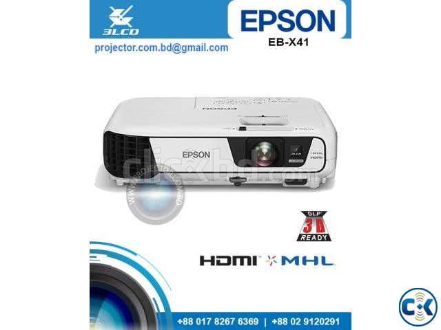 Epson EB-X41 LCD Business Projector | ClickBD large image 0