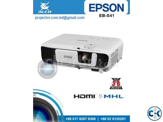 Epson EB-S41 SVGA 3300 Lumens Projector | ClickBD large image 0