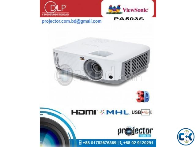 ViewSonic PA503S DLP projector | ClickBD large image 0