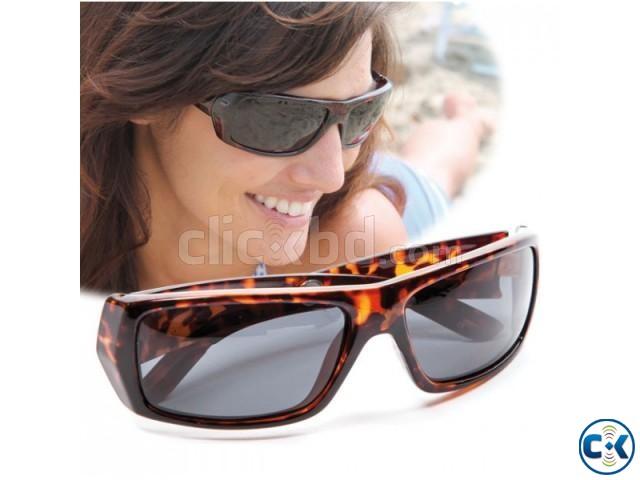 Hi-Definition Polarized Sunglasses UV protection | ClickBD large image 0