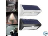 Solar Motion Sensor Security Wall Light For Gate Door Garden