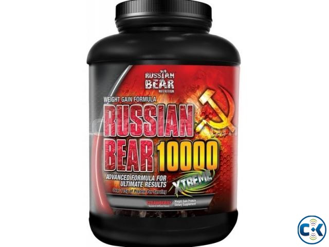 Russian Bear 10000-Weight Gainer 5Lbs  | ClickBD large image 0