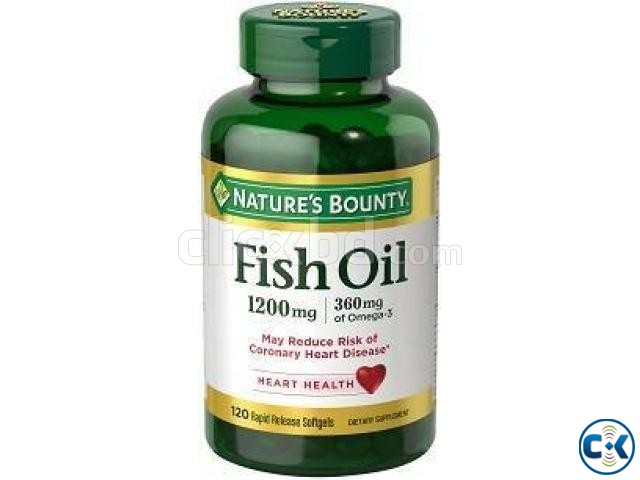 Fish Oil Omega-3 1200 mg 120 Softgels  | ClickBD large image 0