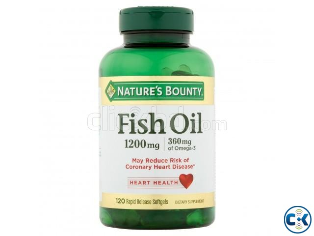Fish Oil Omega-3 1200 mg 120 Softgels  | ClickBD large image 1