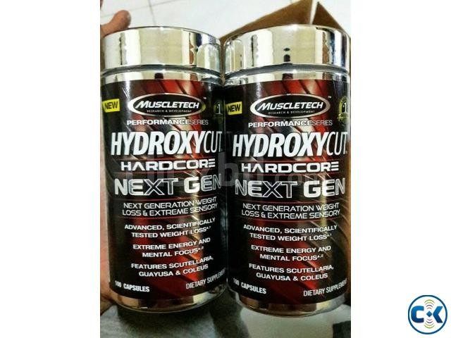 Hydroxycut Hardcore Next Gen Weight Loss 100 Capsules  | ClickBD large image 1