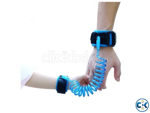 Anti Lost Wrist Link Safety Velcro Wrist Link for Kids | ClickBD large image 0