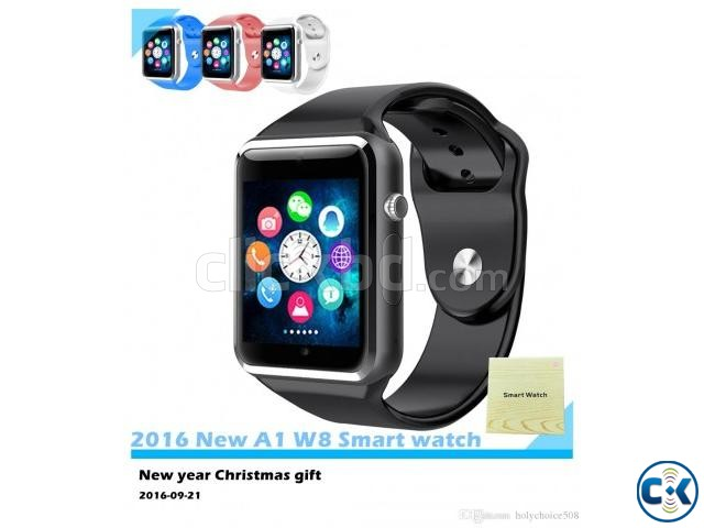 i-watch W8 smart Mobile watch Single Sim intact Box | ClickBD large image 2