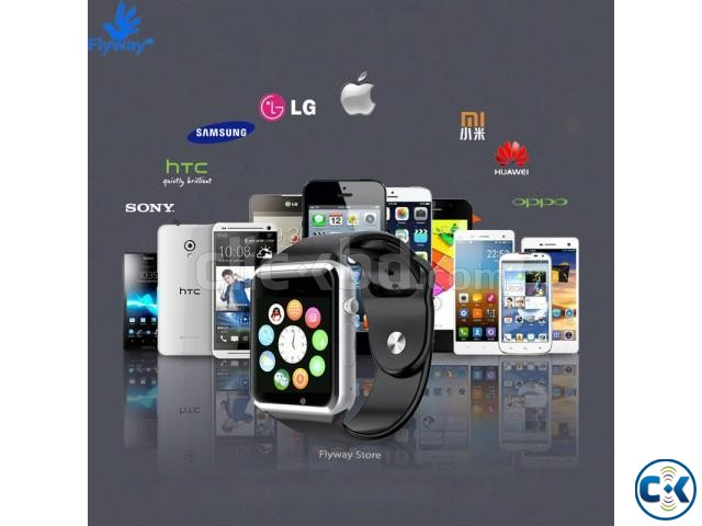 i-watch W8 smart Mobile watch Single Sim intact Box | ClickBD large image 3