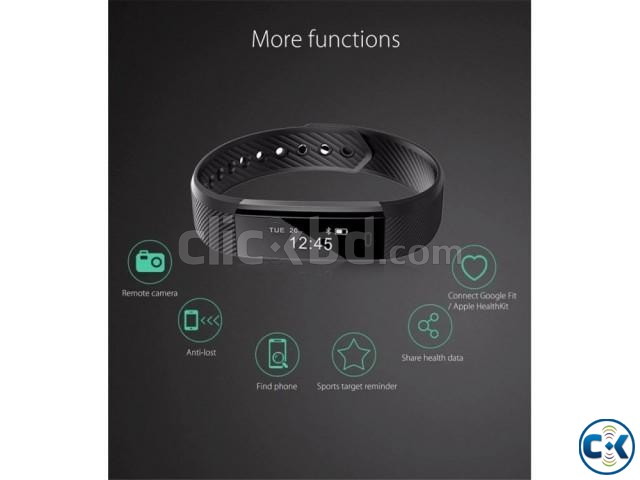 ID115 Fitness Tracker Smart Bracelet intact Box | ClickBD large image 1