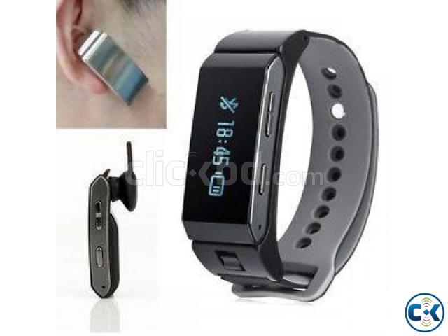 K2 Bluetooth Headset Talk Band Smart Bracelet intact | ClickBD large image 0