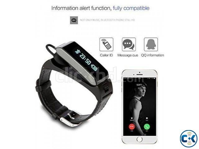 K2 Bluetooth Headset Talk Band Smart Bracelet intact | ClickBD large image 2