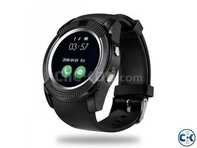 LEMFO V8 smart Mobile Watch Sim Gear intact Box | ClickBD large image 0