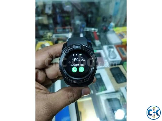 LEMFO V8 smart Mobile Watch Sim Gear intact Box | ClickBD large image 1