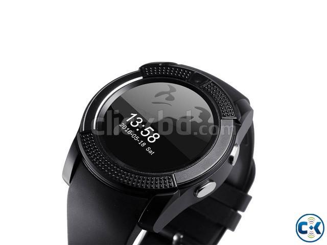 LEMFO V8 smart Mobile Watch Sim Gear intact Box | ClickBD large image 2
