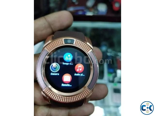 LEMFO V8 smart Mobile Watch Sim Gear intact Box | ClickBD large image 3