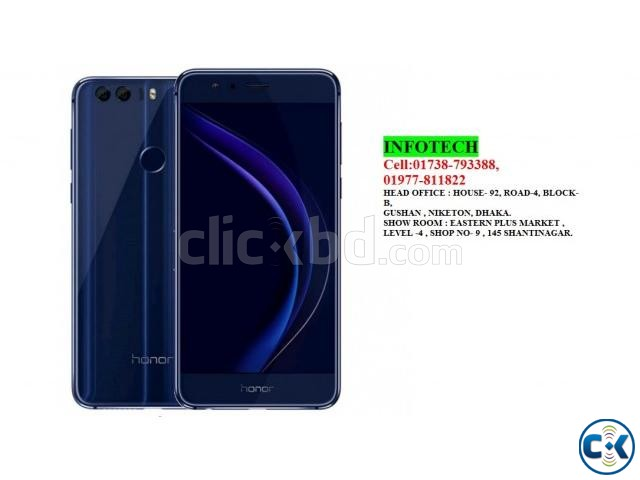 Huawei Honor 8 with 4GB 32GB of RAM BEST PRICE IN BD | ClickBD large image 1