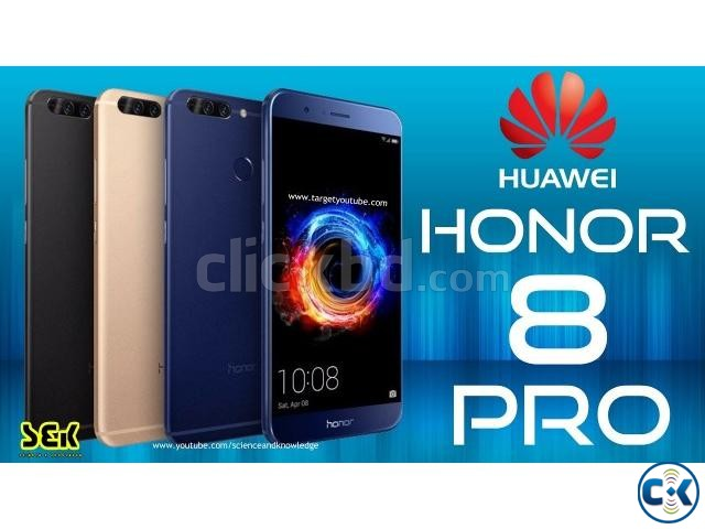 Honor 8 Pro 6GB RAM 64GB BEST PRICE IN BD | ClickBD large image 1