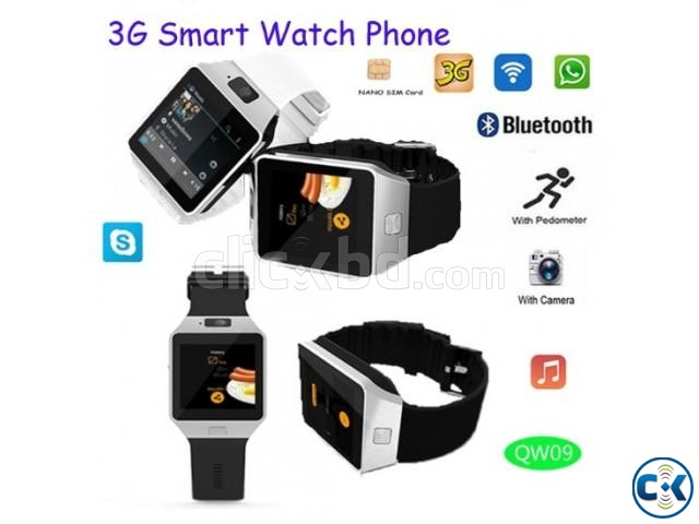 QW09 Android Mobile Watch | ClickBD large image 0