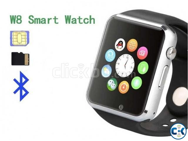 i-watch W8 smart Mobile watch | ClickBD large image 1