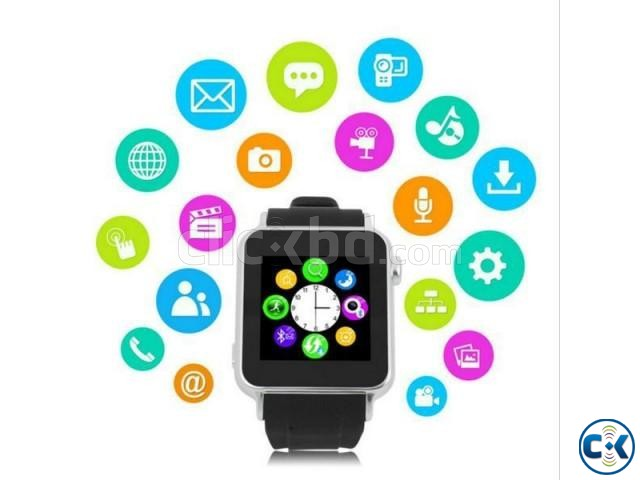 i-watch W8 smart Mobile watch | ClickBD large image 2