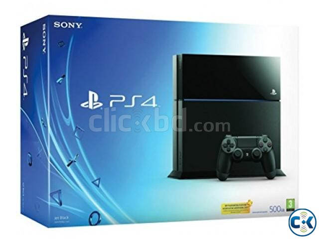 Sony PS4 500GB ORIGINAL BEST PRICE IN BD | ClickBD large image 0