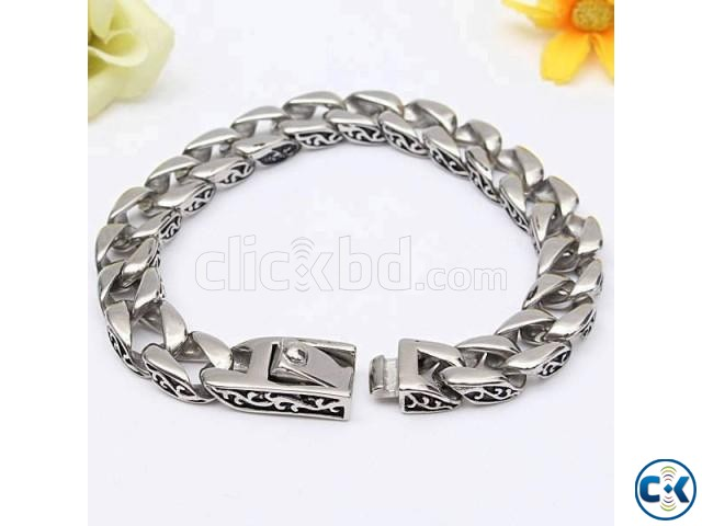 Stainless Steel Bracelet Cuff Belt Buckle Classic | ClickBD large image 0