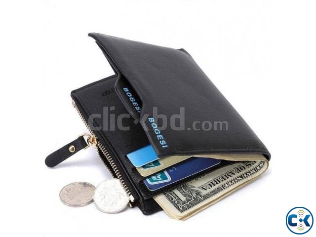 Bogesi Brand money purses Men Wallet | ClickBD large image 0