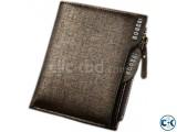 BOGESI Men Boys Gold Artificial Leather Wallet