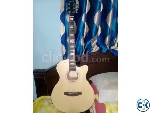 AXE Acoustic Guitar with Equalizer | ClickBD large image 0